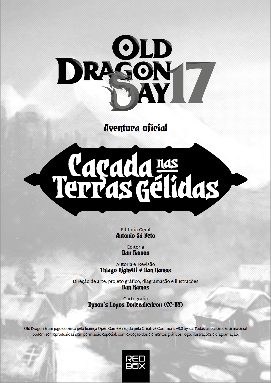 Aventura oficial para o OD Day 2017 de Old Dragon