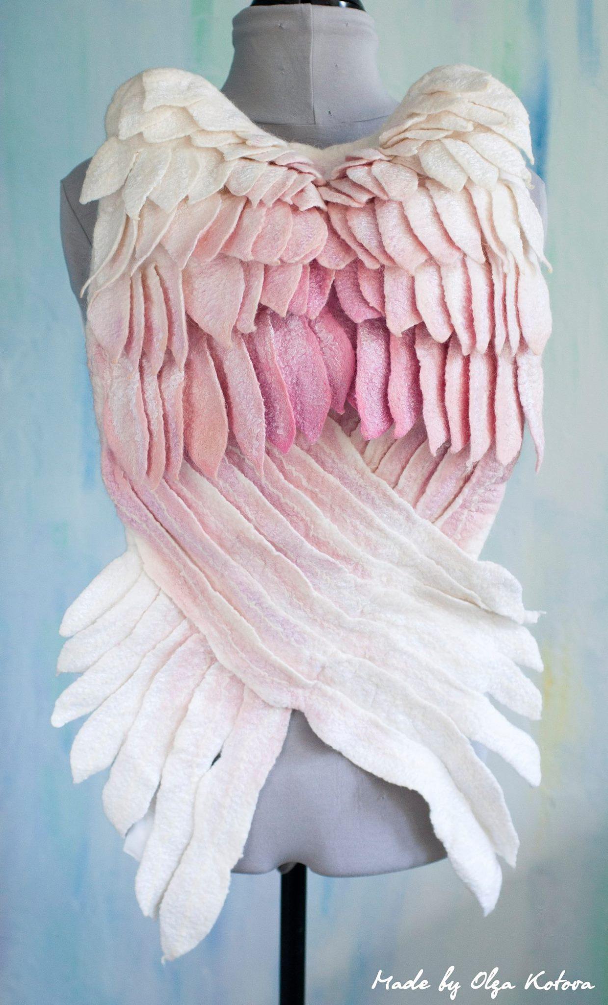 Mochila com formato de Asas de anjos
