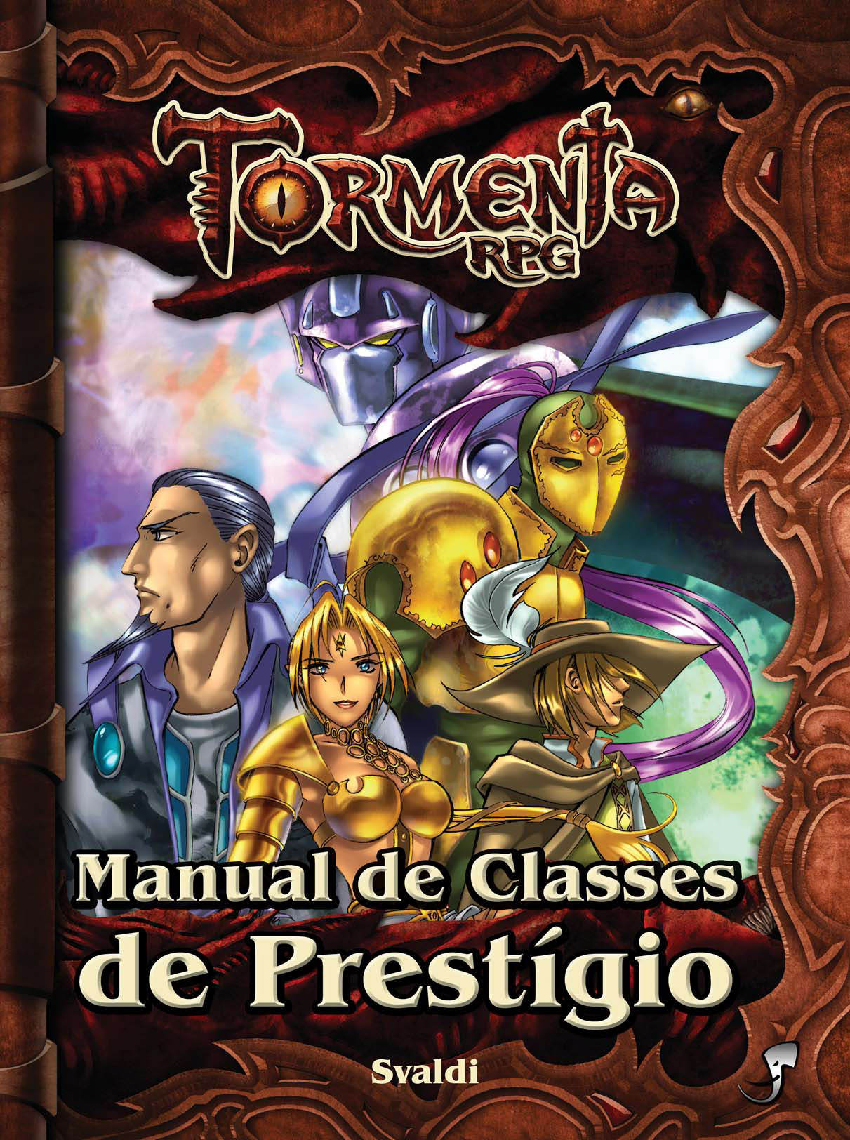 Link para download do manual de classe de prestígio para tormenta rpg da Jambô Editora